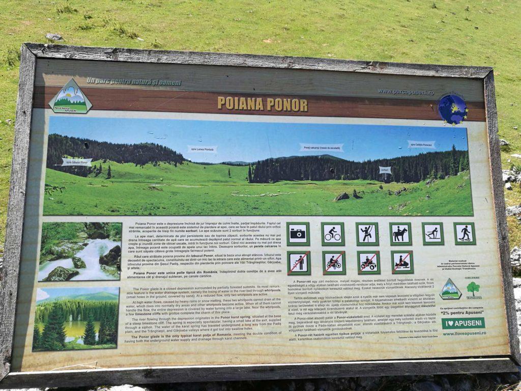 indicatoare-Poiana-Ponor
